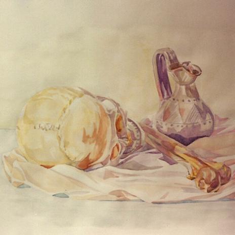 Natura Anatomica con vaso