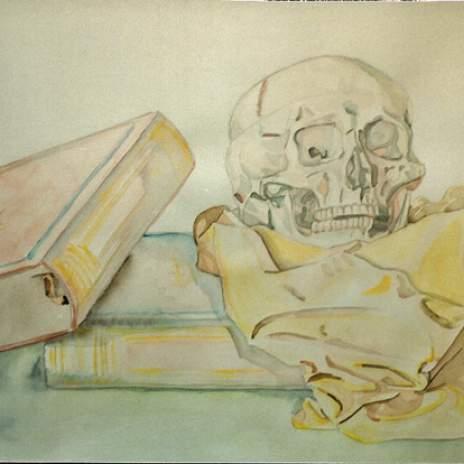 Natura Anatomica con libri